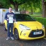 Jade passed his B+E test in May 2014