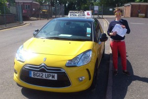 Thor passed her B+E test in June 2014