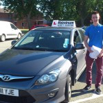 Ian passed his category B licence in July, 2014