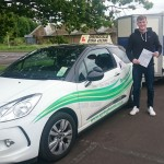 Success another driver passes his B+E test in May 2015